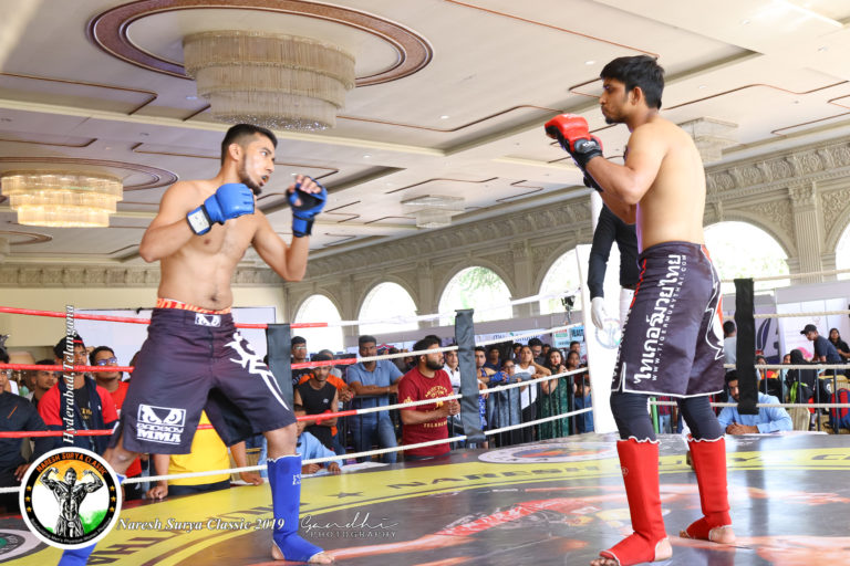 kick boxing at naresh surya classic 2019